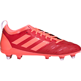 Adidas Malice Elite Soft Gound Boot - Signal Coral/Scarlet/Signal Coral