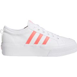 Adidas Nizza Platform W - Cloud White/Signal Pink/Cloud White