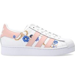 Adidas Superstar Bold W - Cloud White/Vapour Pink/Yellow
