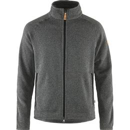 Fjällräven Övik Fleece Zip Sweater - Dark Grey