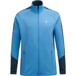 Peak Performance Rider Jacket with Zipper - Blue Elevation