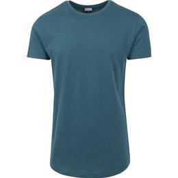 Urban Classics Shaped Long T-shirt - Teal