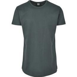 Urban Classics Shaped Long T-shirt - Bottlegreen
