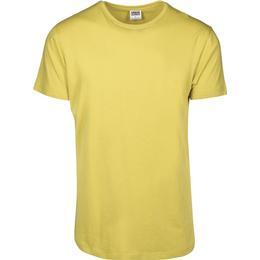 Urban Classics Shaped Long T-shirt - Lemon Mustard