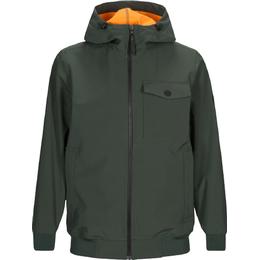 Peak Performance Softshell Jacket with Hood - Drift Green