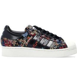 Adidas Superstar Bold W - Core Black/Off White/Red
