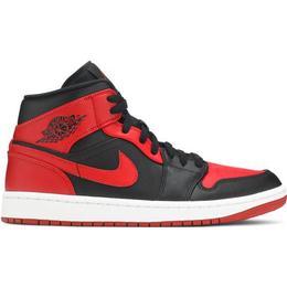 Nike Air Jordan 1 Mid - Black/White/Gym Red