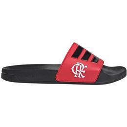 Adidas Chinelo Flamengo Adilette Shower - Core Black/Scarlet/Core Black