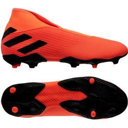 Adidas Nemeziz 19.3 Laceless FG M - Signal Coral/Core Black/Solar Red