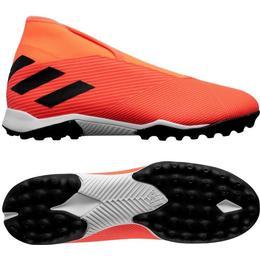 Adidas Nemeziz 19.3 Laceless Turf M - Signal Coral/Core Black/Solar Red