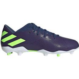 Adidas Nemeziz Messi 19.3 FG - Tech Indigo/Signal Green/Cloud White