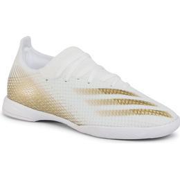 Adidas X Ghosted.3 Indoor M - Cloud White/Met.Gold Melange/Cloud White