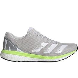 Adidas Adizero Boston 8 W - Grey One/Cloud White/Signal Green