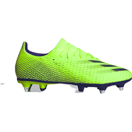 Adidas X Ghosted .3 Soft Ground - Signal Green/Energy Ink/Signal Green