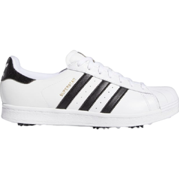 Adidas Golf Superstar Spiked - Cloud White/Core Black/Gold Metallic