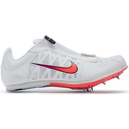 Nike Zoom Long Jump 4 W - White/Black/Hyper Jade/Flash Crimson