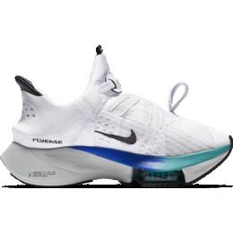 Nike Air Zoom Tempo Next% FlyEase W - White/Spruce Aura/Hyper Violet/Flash Crimson