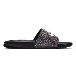 Nike Benassi JDI - Black/Light Arctic Pink/Baltic Blue/White
