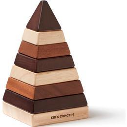 Kids Concept Neo Stacking Pyramid Natural