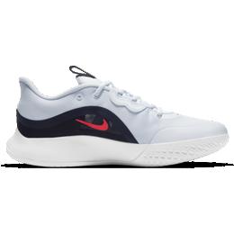 Nike Court Air Max Volley W - Football Grey/Blackened Blue/Vit/Bright Crimson