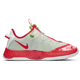 Nike PG 4 - Crimson / Green Apple / Volt / White
