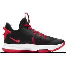 Nike LeBron Witness 5 - Black/University Red/White/Bright Crimson