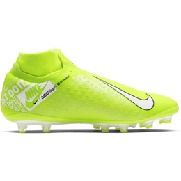 Nike Phantom Vision Elite Dynamic Fit AG-PRO - Volt/Barely Volt/White