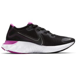 Nike Renew Run W - Black/White/Fire Pink/Metallic Dark Gray