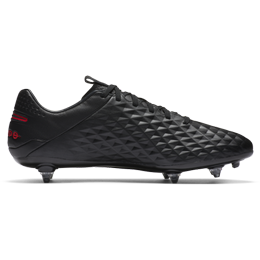 Nike Tiempo Legend 8 Pro SG - Black/Chile Red/Dark Smoke Grey