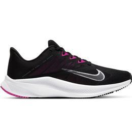 Nike Quest 3 W - Black/Dark Smoke Gray/Fire Pink/Metallic Cool Gray