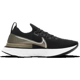Nike React Infinity Run Flyknit Premium W - Black/Metallic Gold Silk/Newsprint/White