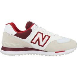 New Balance 574 M - Beige/White/Red