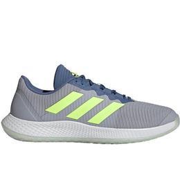 Adidas ForceBounce Handball - Halo Silver/Hi-Res Yellow/Crew Blue