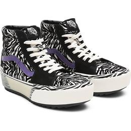 Vans Zebra Sk8-hi Stacked W - Black/Blanc De Blanc