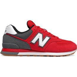New Balance 574 M - Red/White