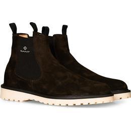 Gant Roden Chelsea Boot M - Dark Brown Suede