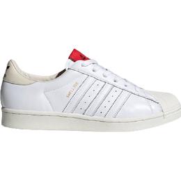 Adidas 424 Shell-Toe M - Core White/Core White/Scarlet