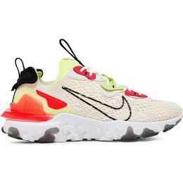 Nike NSW React Vision W - Pale Ivory/Black-Volt/Laser Crimson