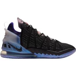 Nike Lebron 18 'The Chosen 2' - Black/Fierce Purple/Metallic Silver/Bright Crimson