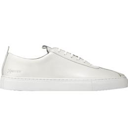 Grenson Oxford Calf Sneaker - White
