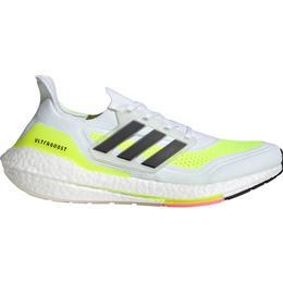 Adidas UltraBOOST 21 M - Cloud White/Core Black/Solar Yellow