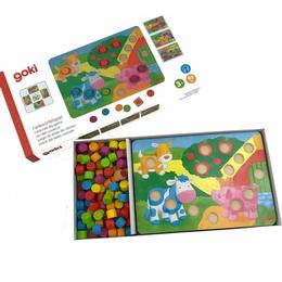 Goki Colour Dice Game 2