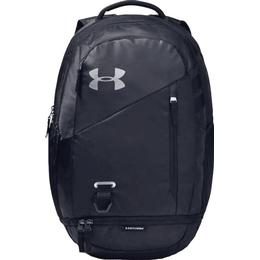 Under Armour Hustle 4.0 Backpack - Black/ Black/Silver