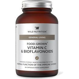 Wild Nutrition Food-Grown Vitamin C & Bioflavonoids 60 st