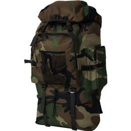 vidaXL Army Backpack XXL 100L - Camouflage