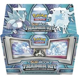 Pokémon Sun & Moon Alolan Sandslash & Alolan Ninetales Trainer Kit