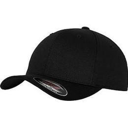 Flexfit 6277 Wooly Combed Cap - Black