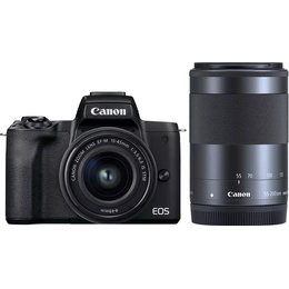 Canon EOS M50 Mark II + EF-M 15-45mm IS STM + EF-M 55-200mm IS STM