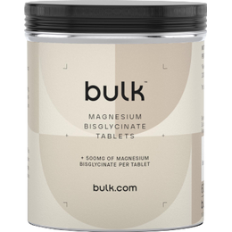 Bulk Powders Magnesium Bisglycinate 500mg 60 st