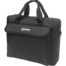 """Manhattan London Laptop Bag 14"""" - Black"""